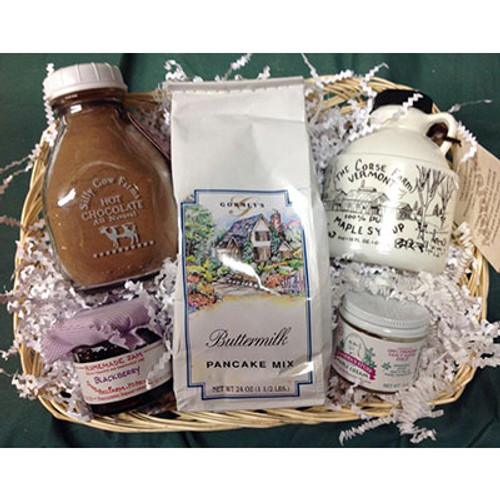 Green Mountain Breakfast Gift Basket