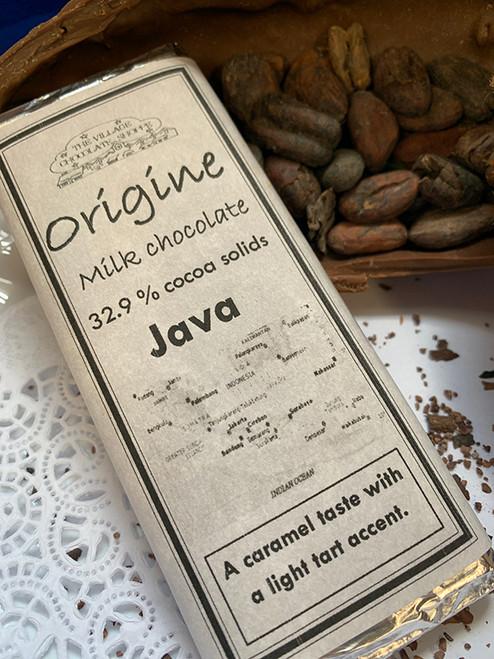 Java - 32.9% Cocoa Milk Chocolate
