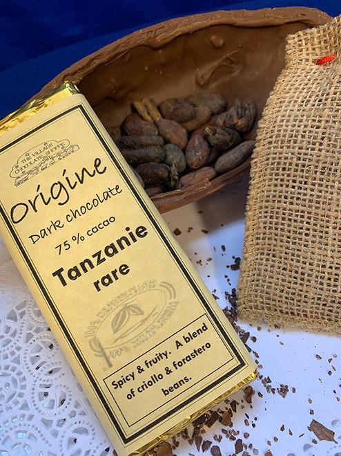 Tanzanie Rare - 75% Cacao Dark Chocolate