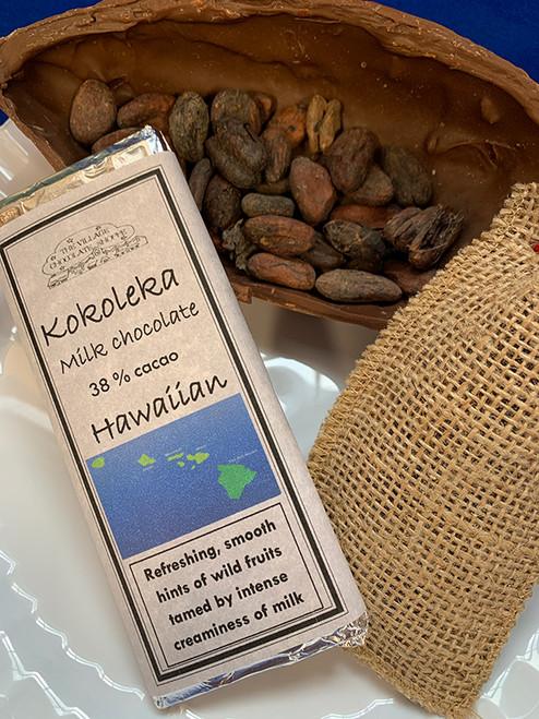 Kokoleka Hawaiian - 38% Cacao Milk Chocolate