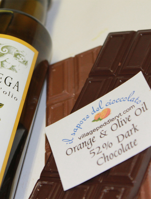 Olive Oil Bars - Orange - Dark Chocolate