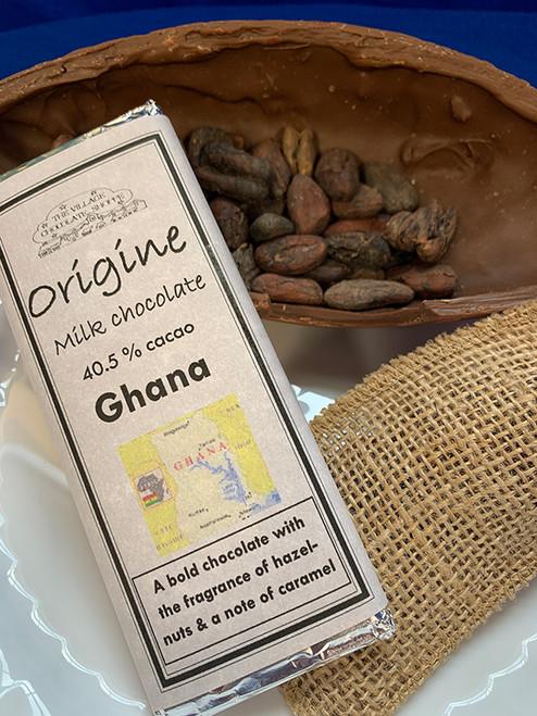 Ghana - 40.5% Cacao Milk Chocolate