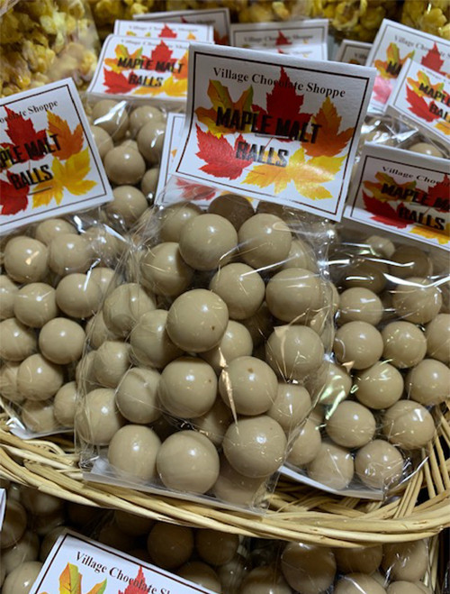Maple Malt Balls