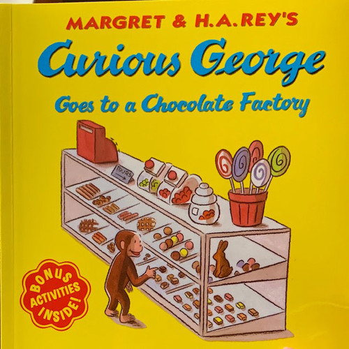 Book: Curious George Goes to a Chocolate Factory