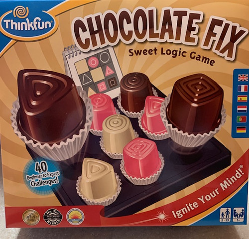 ThinkFun Chocolate Fix - Sweet Logic Game