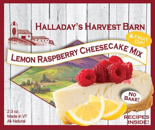 Lemon Raspberry No-Bake Cheesecake Mix
