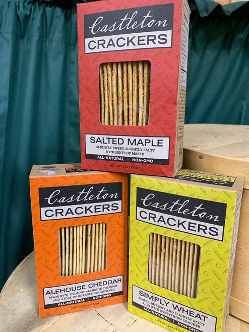 Castleton Crackers - Various Flavors
