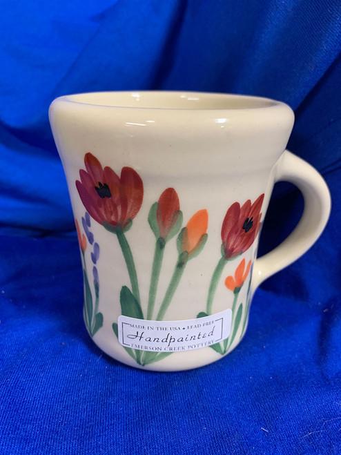 Pottery - 3-1/2 Inch Mug - Poppy