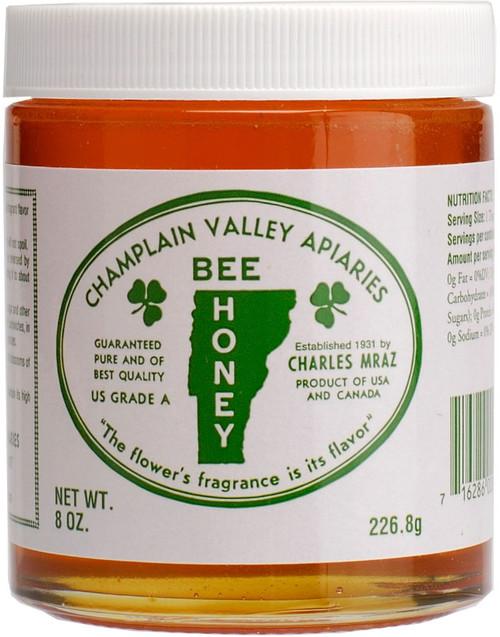 8 oz. Glass Jar of Liquid Honey
