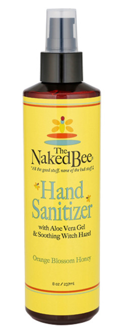 Naked Bee 8 oz. Hand Sanitizer in Orange Blossom Honey
