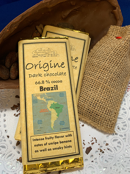 Brazil - 66.8% Cacao Dark Chocolate