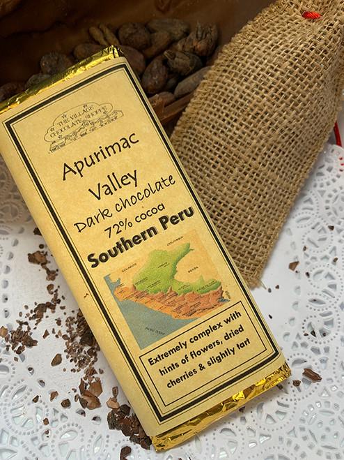 Southern Peru - 72% Cocoa Dark Chocolate