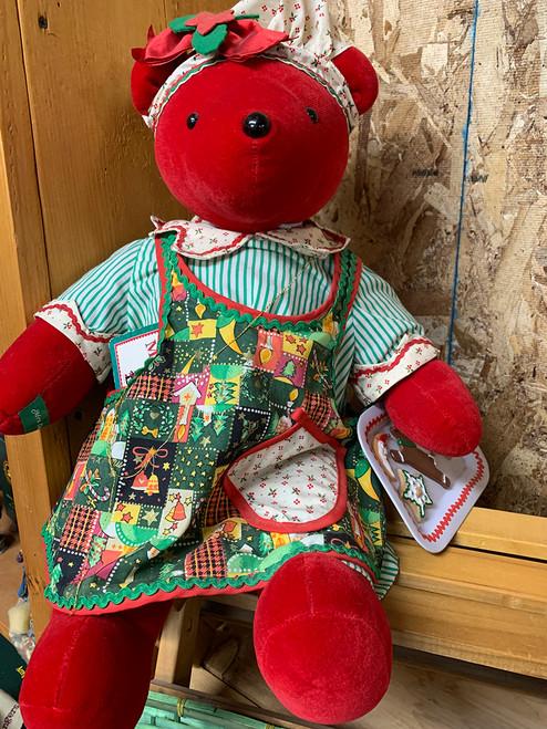 Limited Edition Mrs. Claws Teddy Bear