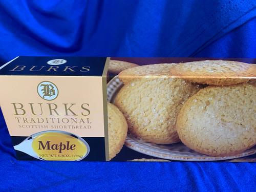 Burks Traditional Scottish Shortbread - Maple