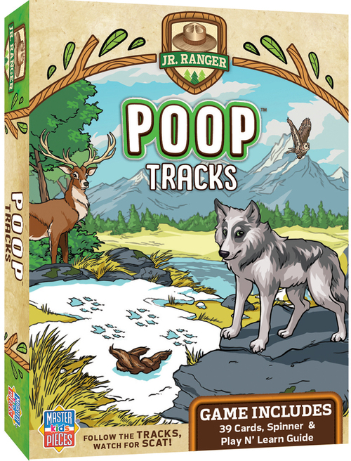 Jr. Ranger Poop Tracks Game
