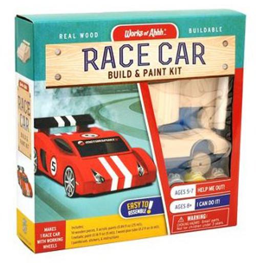 Race Car Build and Paint Kit