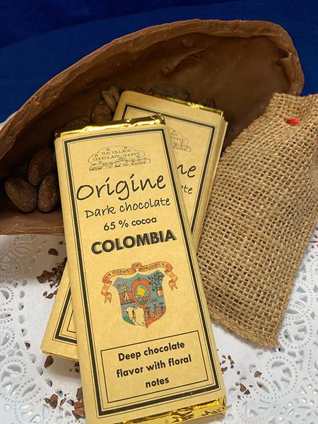 Colombia - 65% Cocoa Dark Chocolate