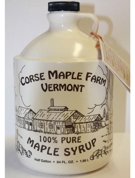 Vermont Maple Syrup - Half Gallon