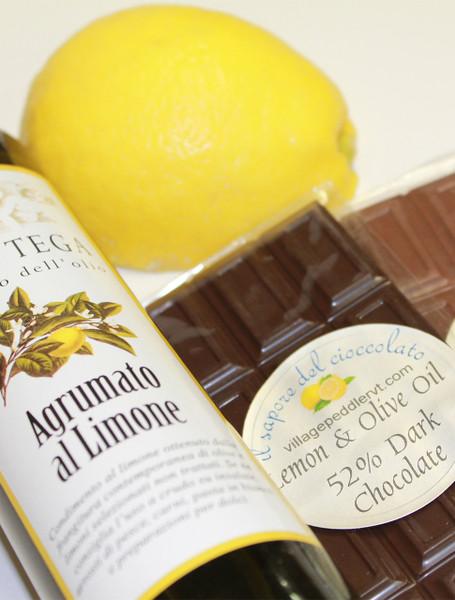 Olive Oil Bars - Lemon - Dark Chocolate