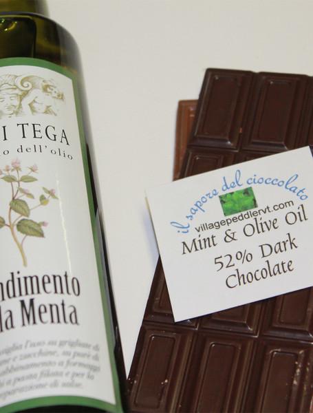 Olive Oil Bars - Mint - Dark Chocolate