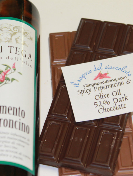 Olive Oil Bars - Spicy Peperoncino - Dark Chocolate