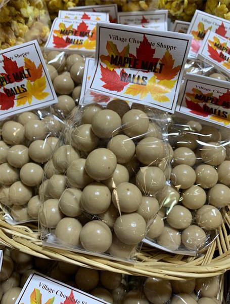 Maple Malt Balls