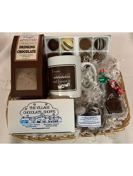 Everybody Loves Chocolate Gift Basket