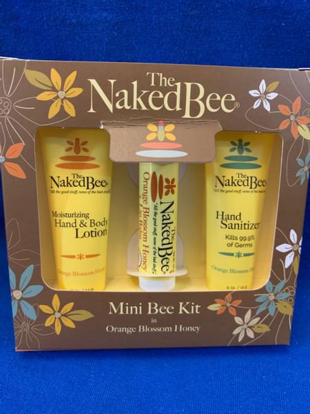Naked Bee Orange Blossom Honey Mini Bee Kit