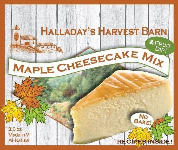 Maple No-Bake Cheesecake Mix
