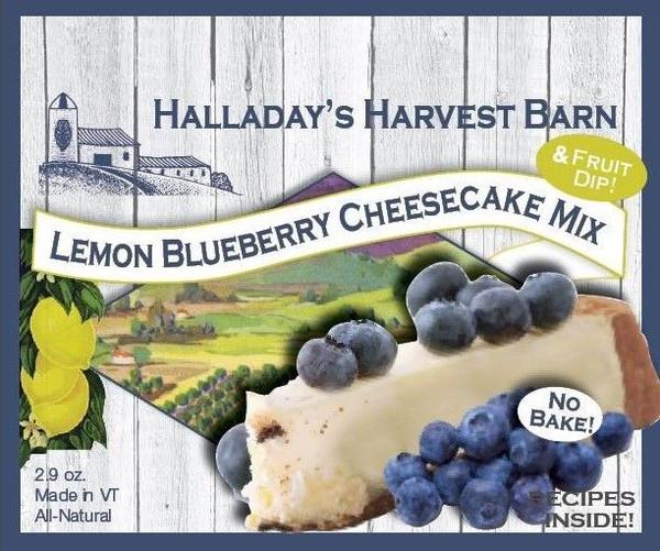 Lemon Blueberry No-Bake Cheesecake Mix