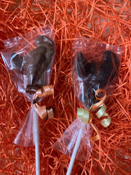 Chocolate Turkey Pops - Small