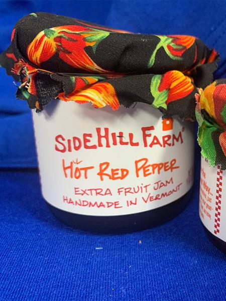 Hot Red Pepper Homemade Extra Fruit Jam