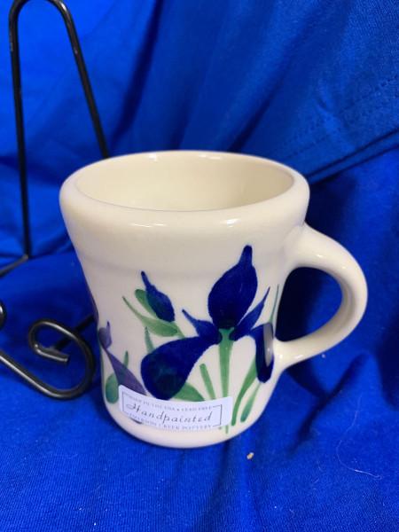Pottery - 3-1/2 Inch Mug - Blue Iris