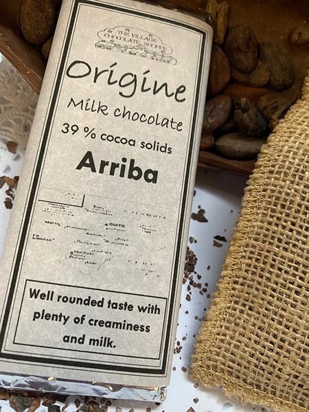 Arriba - 39% Cacao Milk Chocolate