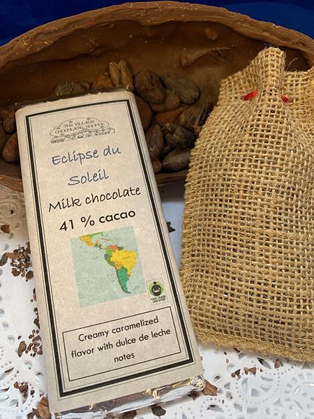Eclipse du Soleil - 41% Cacao Milk Chocolate