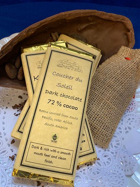 Coucher du Soleil - 72% Cocoa Dark Chocolate