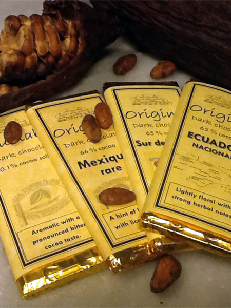 Origine Chocolate Bars - Pick-Your-Own Four-Pack Assortment