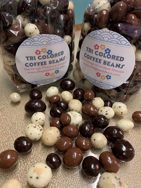 Tri-Colored Coffee Beans