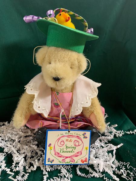 Spring Bonnets Muffy Teddy Bear