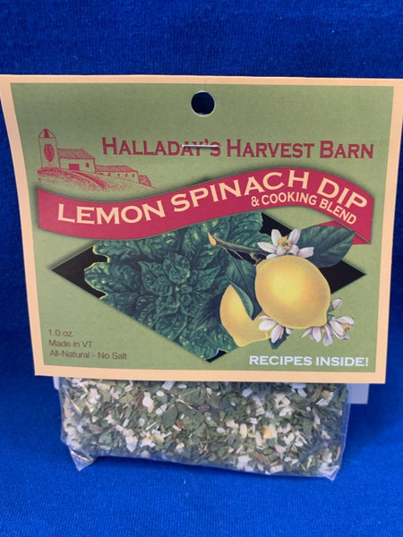 Lemon Spinach Dip