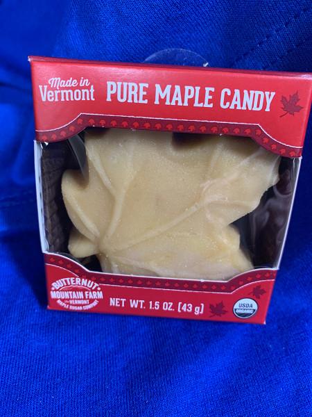 Pure Maple Sugar Candy (Maple Leaf)