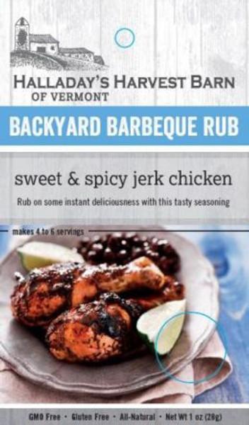 Halladay's Harvest Barn Sweet & Spicy Jerk Chicken Backyard BBQ Rub