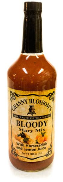 Granny Blossom's Bloody Mary Mix with Horseradish and Lemon Juice