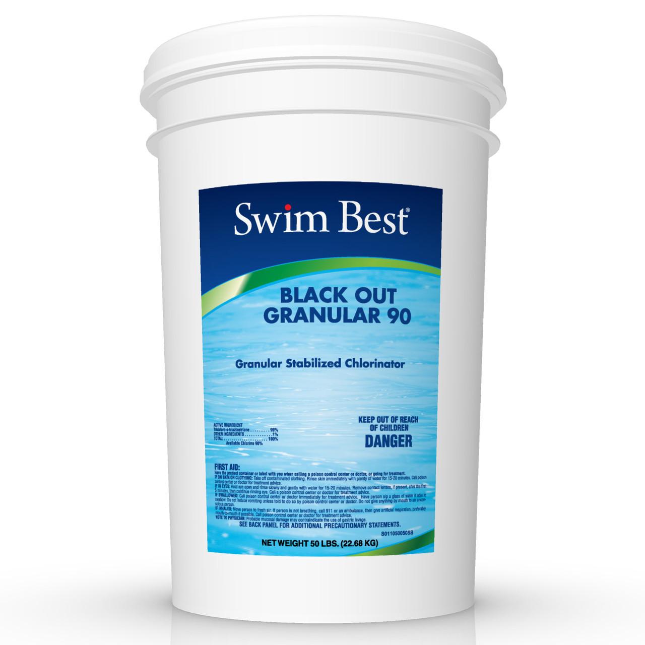 Not 73/% Granular 90/% TCCA Trichlor Active Chlorine per lb  Full Desc Below