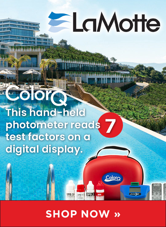 LaMotte ColorQ Digital Display from Waterline Technologies