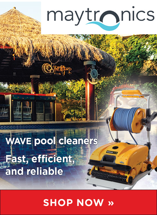 Maytronics Robotic Pool Cleaners from Waterline Technologies