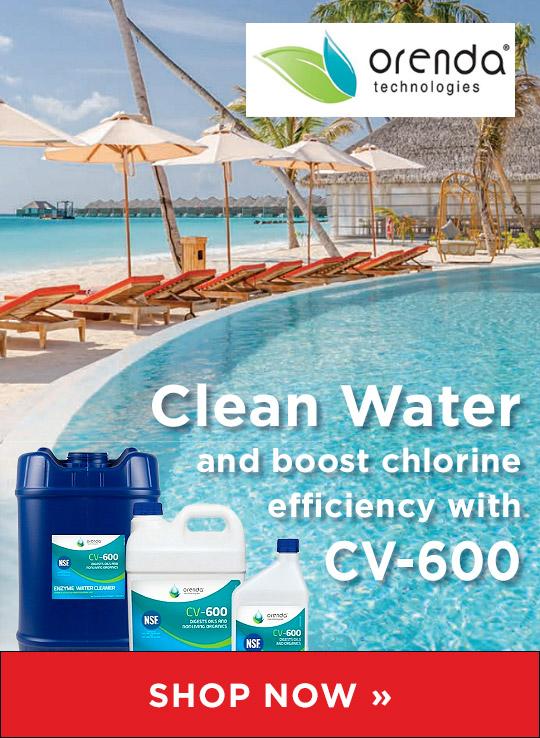Orenda CV-600 Catalytic Enzyme Water Cleaner from Waterline Technologies