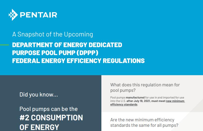 Pentair Federal Energy Efficiency Regulations