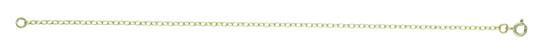 """9ct Yellow Minibel Belcher Chain 18"""" / 45cm"""