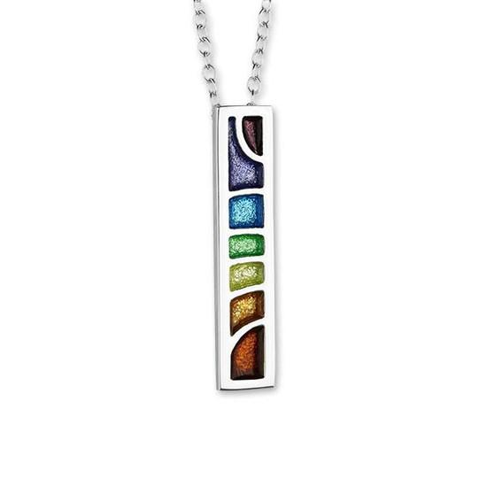Ortak IndulgeSilver Rainbow Pendant - eo135